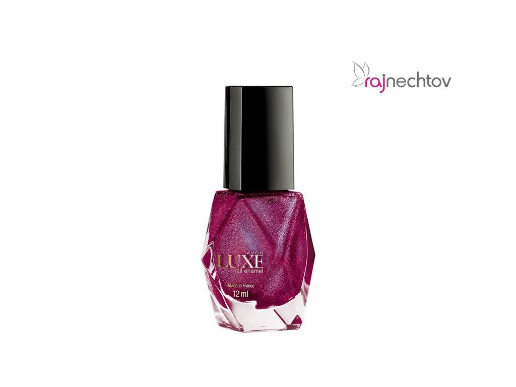 Avon Lak Na Nehty Luxe Radiant Rose Raj Nechtov