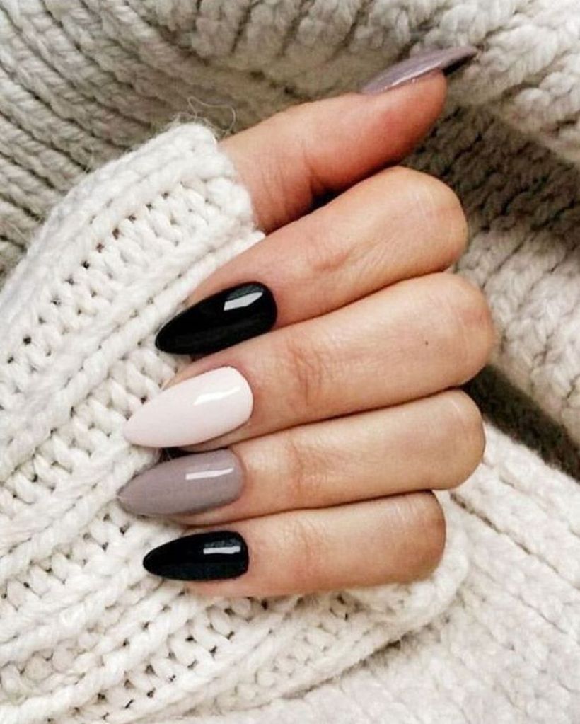 49 Lovely Fall Nail Design Ideas That Make You Want To Copy In 2020 Bezove Nehty Umele Nehty Gelove Nehty