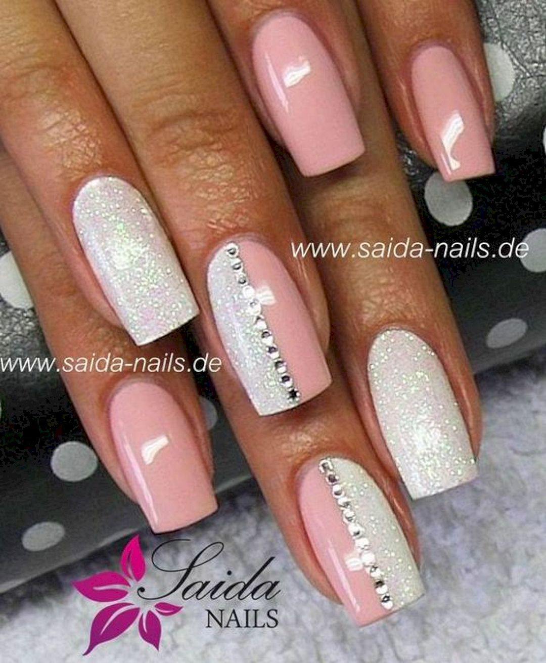 The Best So Pretty Acrylic Nails Ideas And Inspirations No 31 Gelove Nehty Namornicke Nehty Design Nehtu