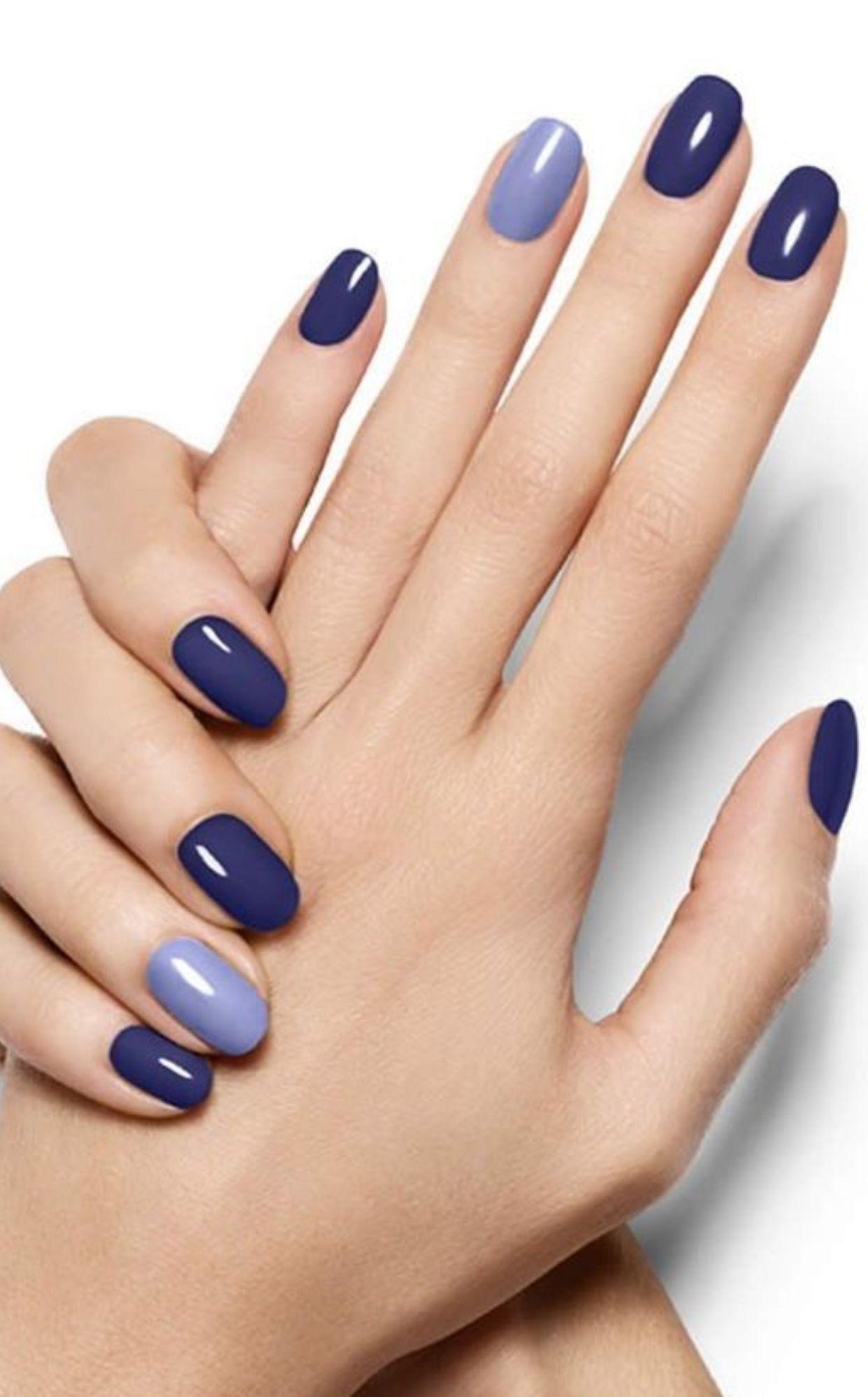 Trendy Blue Nail Design You Must Try 17 Outafitt Com Gelove Nehty Design Nehtu Nehty