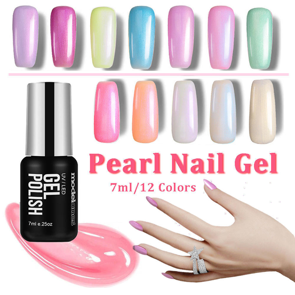 7ml Pearls Glitter Gel Nail Polish Soak Off Uv Pearl Nail Gel Buy At A Low Prices On Joom E Commerce Platform