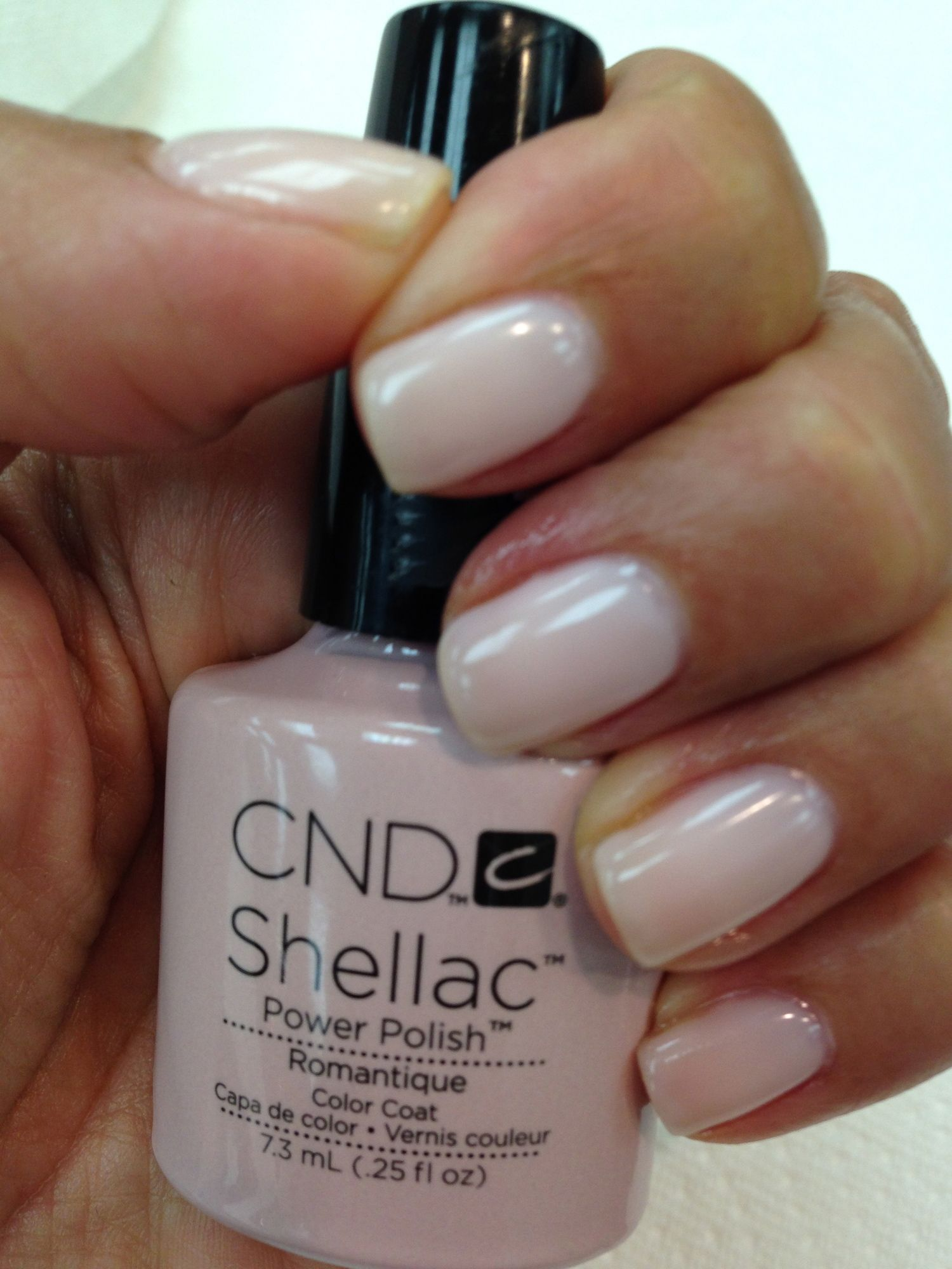 Mani Monday The Perfect Natural Manicure The Glow Girl By Melissa Meyers Shellac Nail Colors Cnd Nails Cnd Shellac Nails