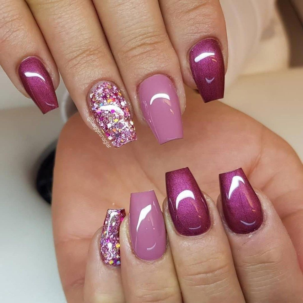 50 Unique And Beautiful Winter Nail Designs You Must Try Gelove Nehty Design Nehtu Ombre Nehty