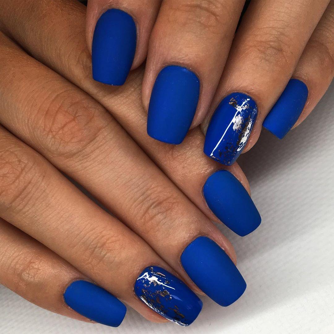 Matna Modra Summernails Nails Blue Bluenails Gelnails Gelovenechty Gelovenehty Nehty Nechty Nailstagram Nailsofinstagram Acrylicn Nehty A Gelove Nehty
