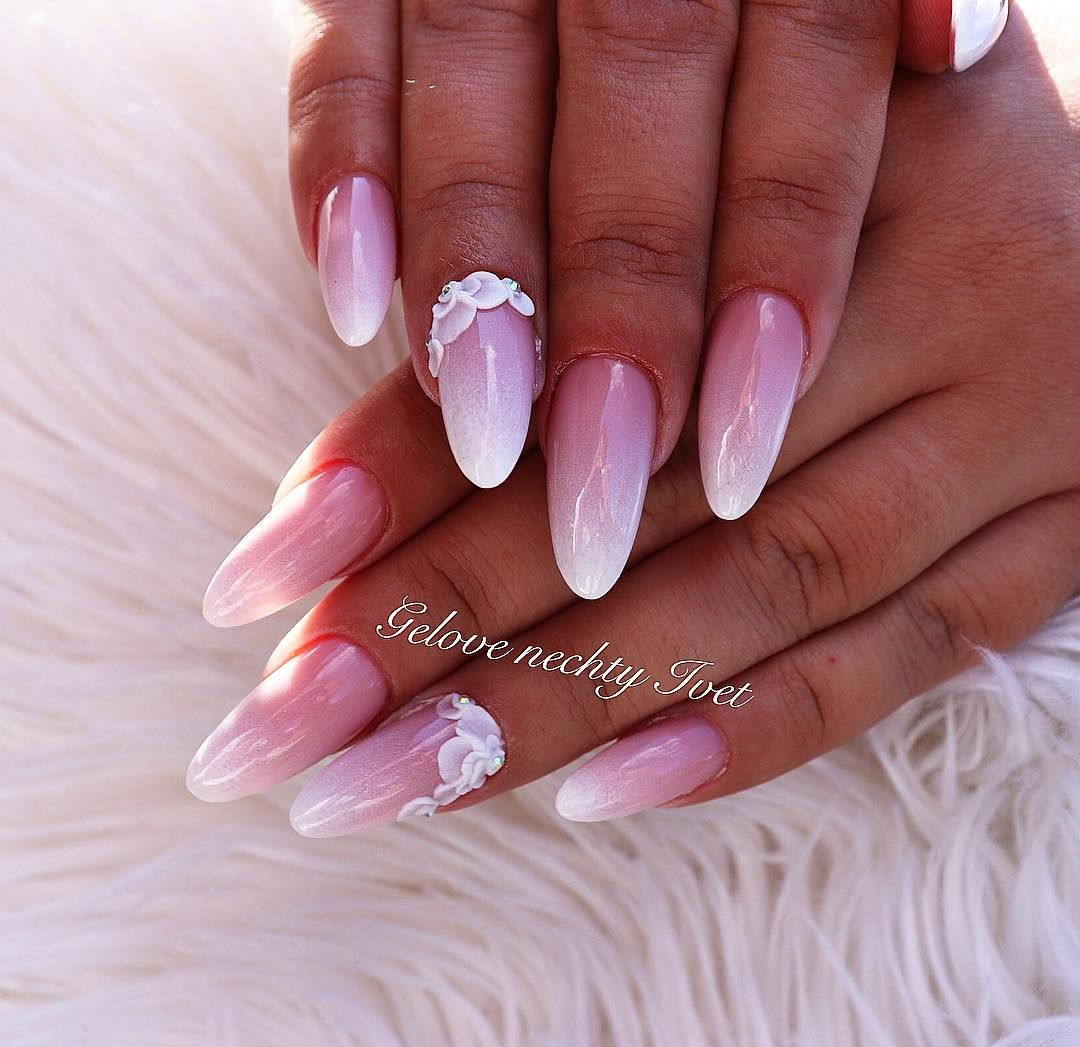 Weddingnails Nails Nails Nail Nailsart Nailsdid Nailswag Nailstagram Summer Summernails Baby Babyboomer Omb With Images Valentines Nails Pink Nails Swag Nails