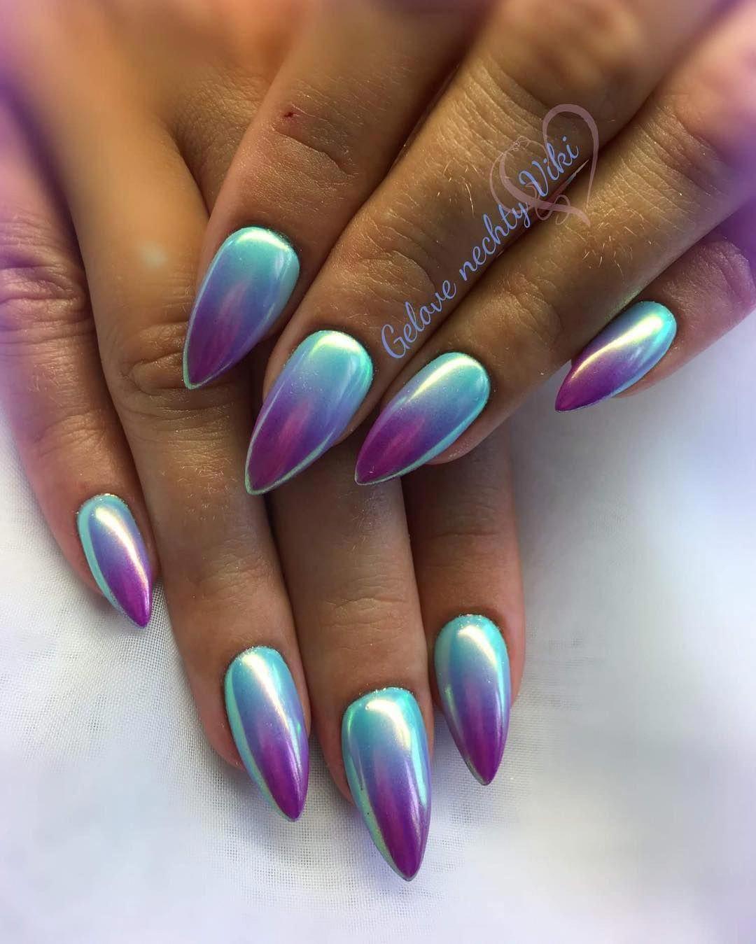 Aurorove Pecky Ombre Z Barev Aruba A Euphoria Zalestena Aurora Nehtomania Www Nehtomania Cz Nails Nailsofthed Ombre Nails Nails Holiday Nails