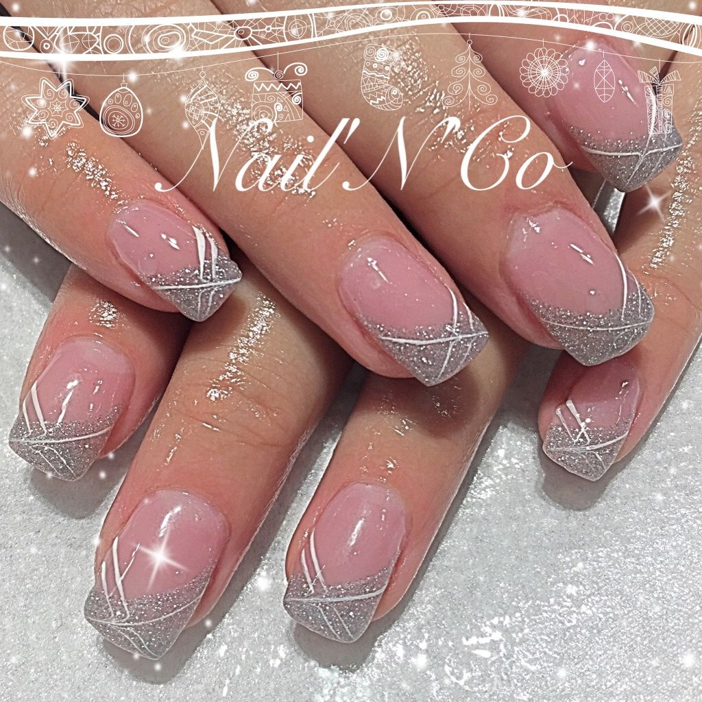 Pin By Mrazkova Petra On Nails Cute Nail Art Designs Silver Nails Trendy Nails