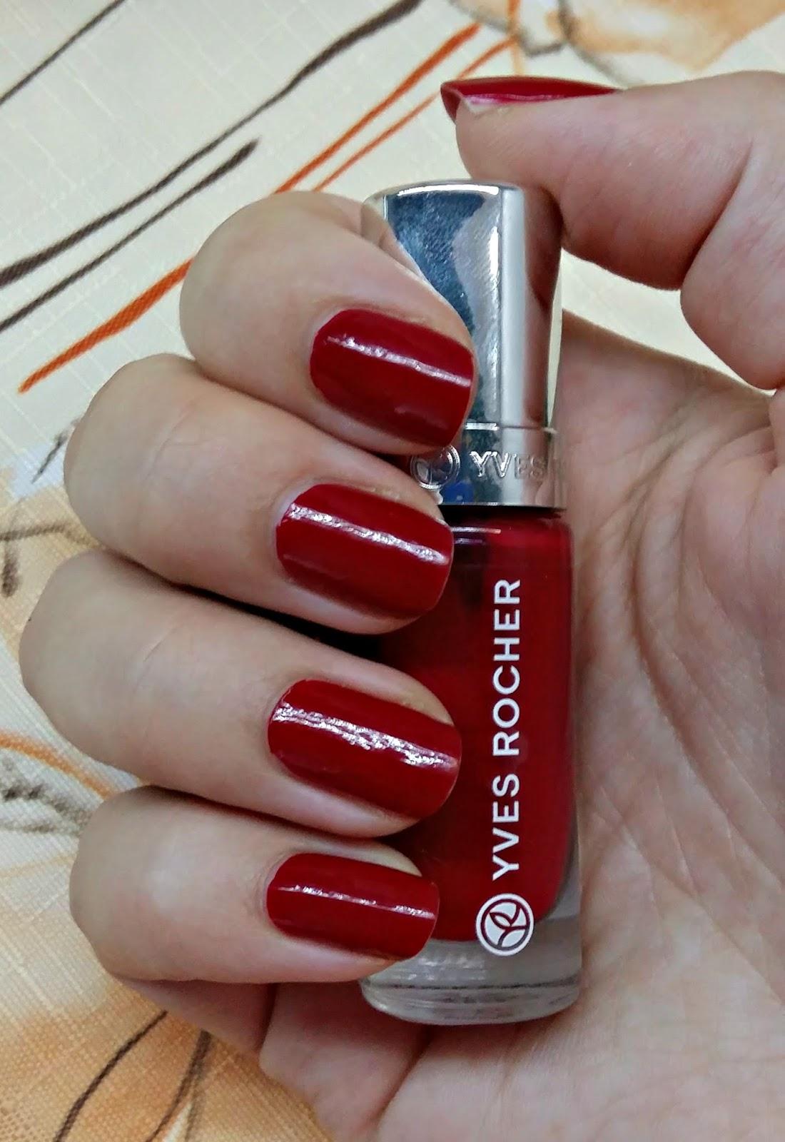 Povidani Nejen O Kosmetice Cervene Lakovani S Yves Rocher