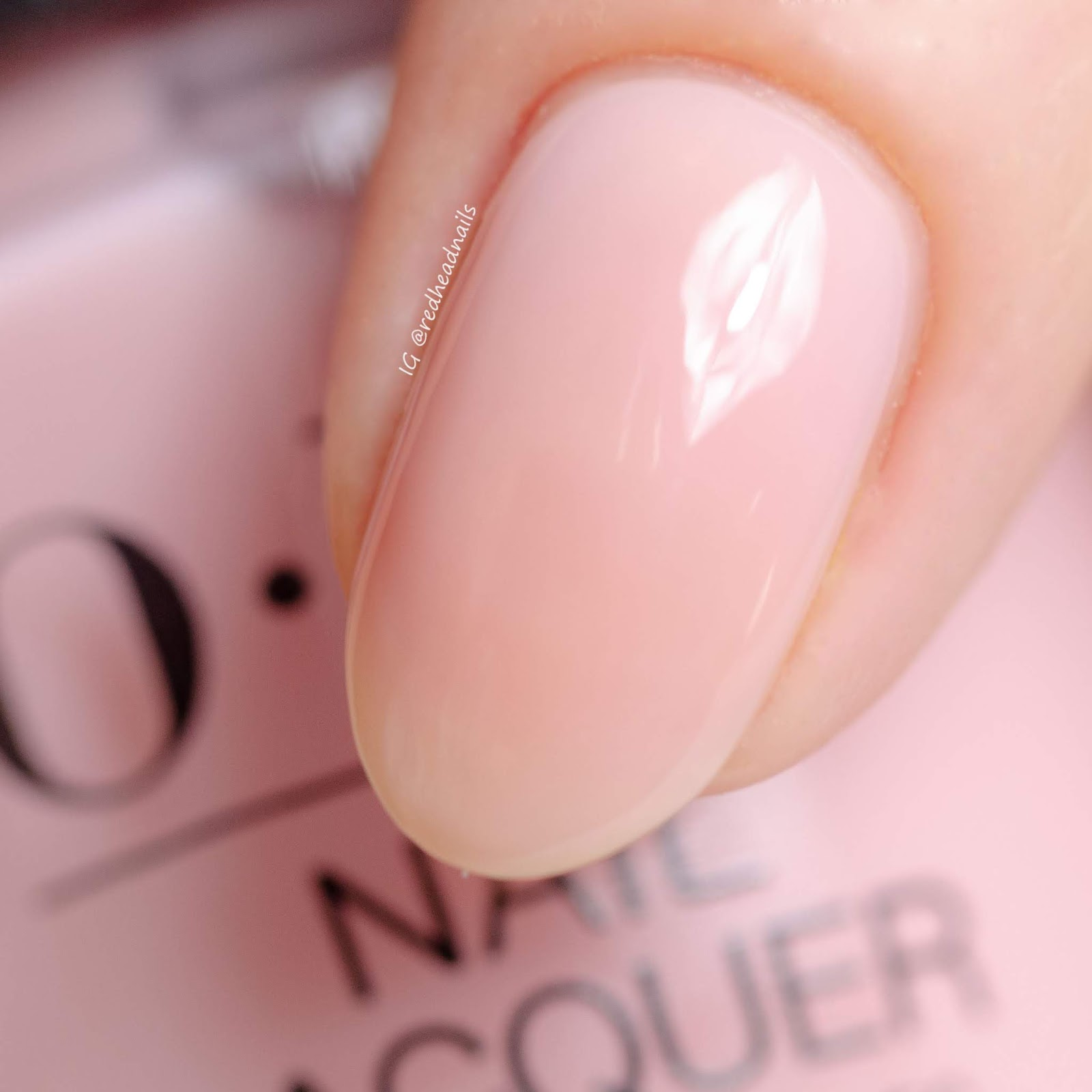 Redhead Nails Blog Paznokciowy Opi Always Bare For You Swatche I Zdobienie
