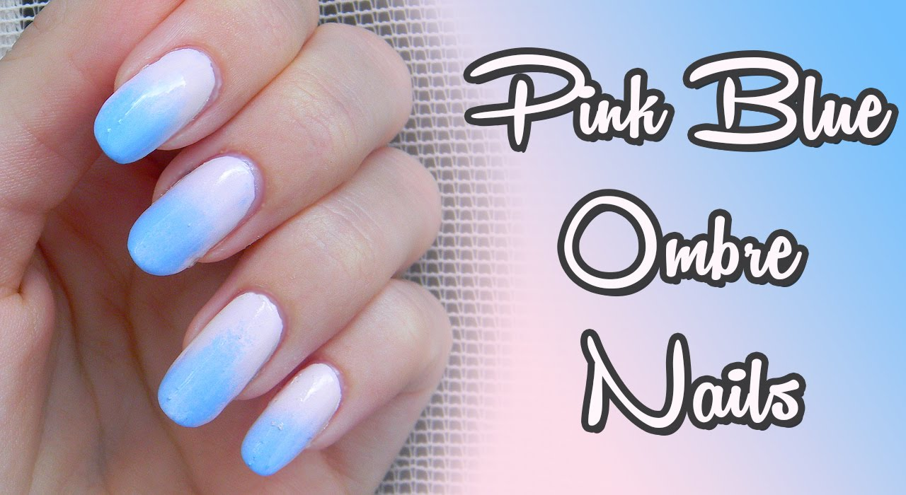 Ako Na Ombre Nechty How To Get Ombre Gradient Nails Youtube