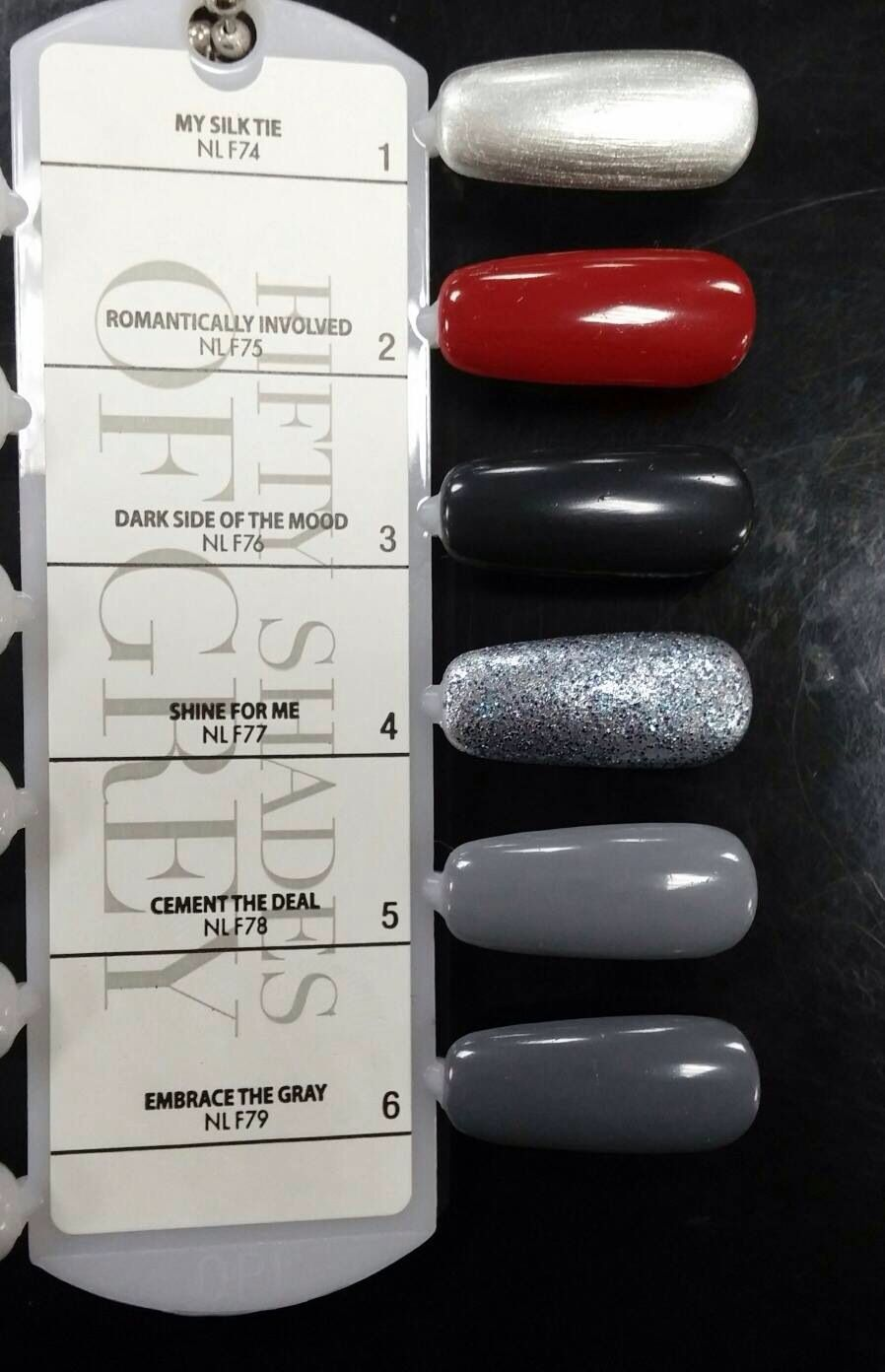 Opi Fifty Shades Of Grey Collection Korom