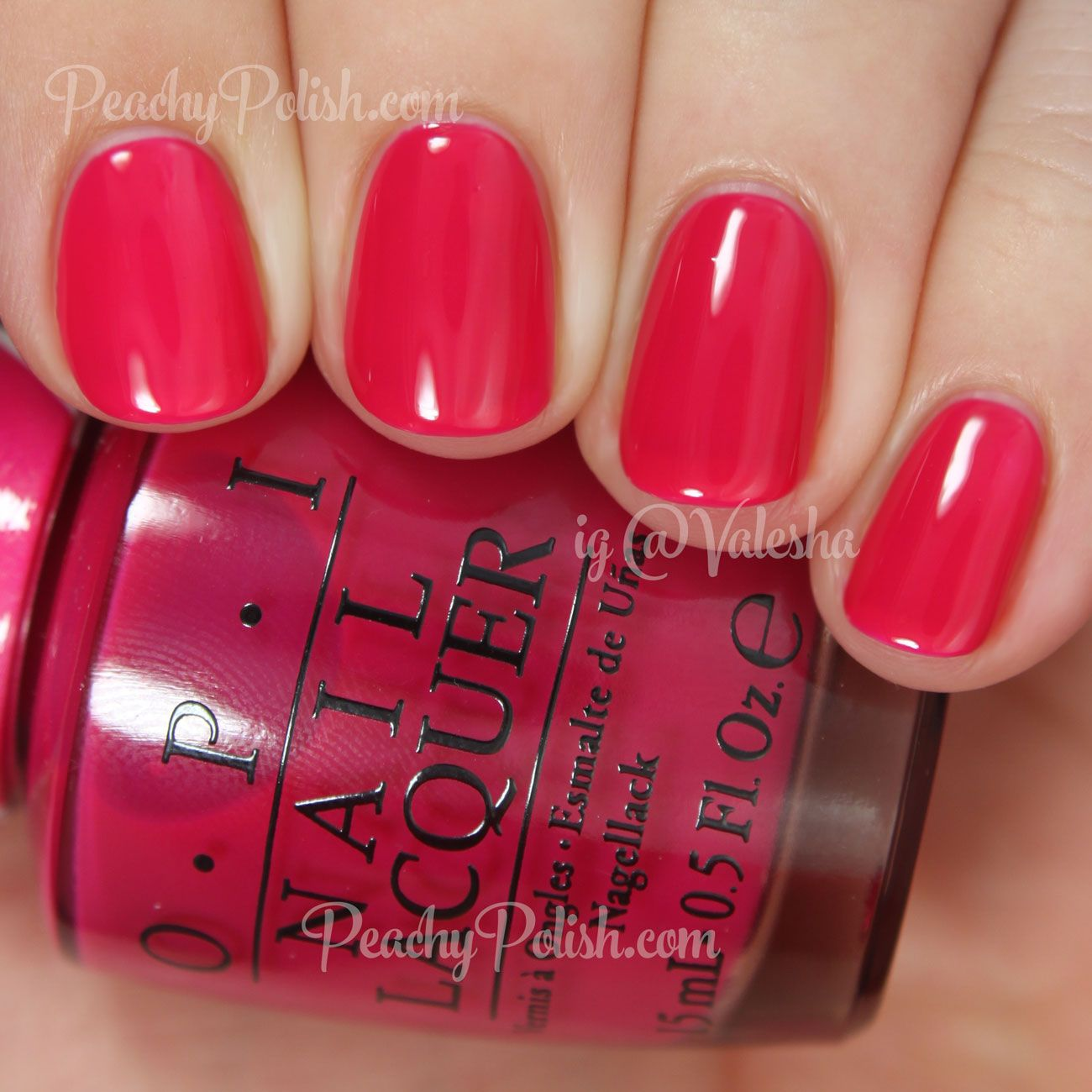 Opi Color Paints Collection Swatches Review Paznokcie Lakier