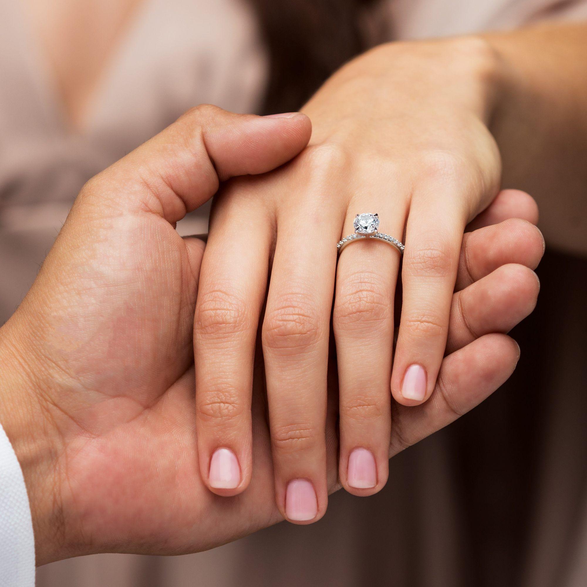 Alexandria Solitaire Lab Grown Diamond Engagement Ring Engagement Engagement Rings Expensive Wedding Rings