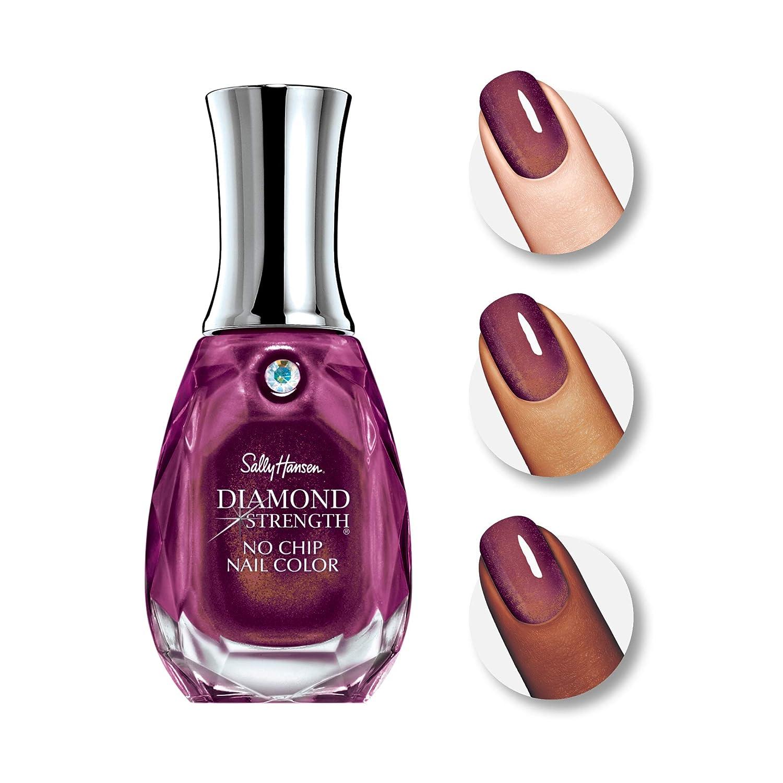Amazon Com Sally Hansen Diamond Strength No Chip Nail Polish Royal Romance Beauty