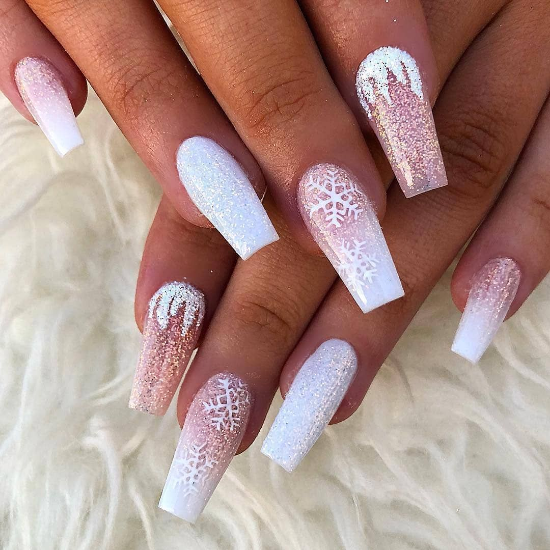 60 Simple Acrylic Coffin Nails Designs Ideas For 2019 With Images Design Nehtu Gelove Nehty Umele Nehty