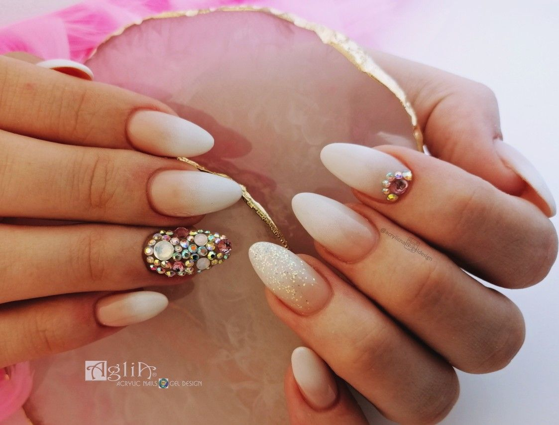 Acrylic Nails Gel Design Ombre Nails