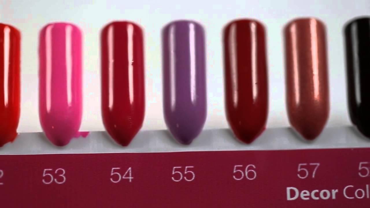 Crystal Nails Hard Lacquer Koromlakkok Palettan Youtube