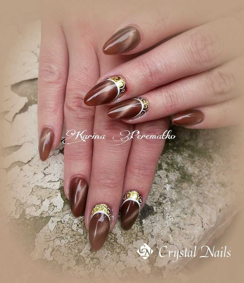 Tiger Eye Crystalac Gel Polish New Product 2014 Eye Nail Art Glitter Nail Art Crystal Nails