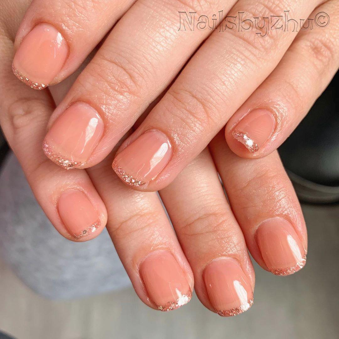 Gel Polish Opaque Gel Opaquenails Gellak Nudecolornails Shortnails Nailart Handpainted Frenchnails Nails Nailde Swag Nails Fashion Nails French Nails