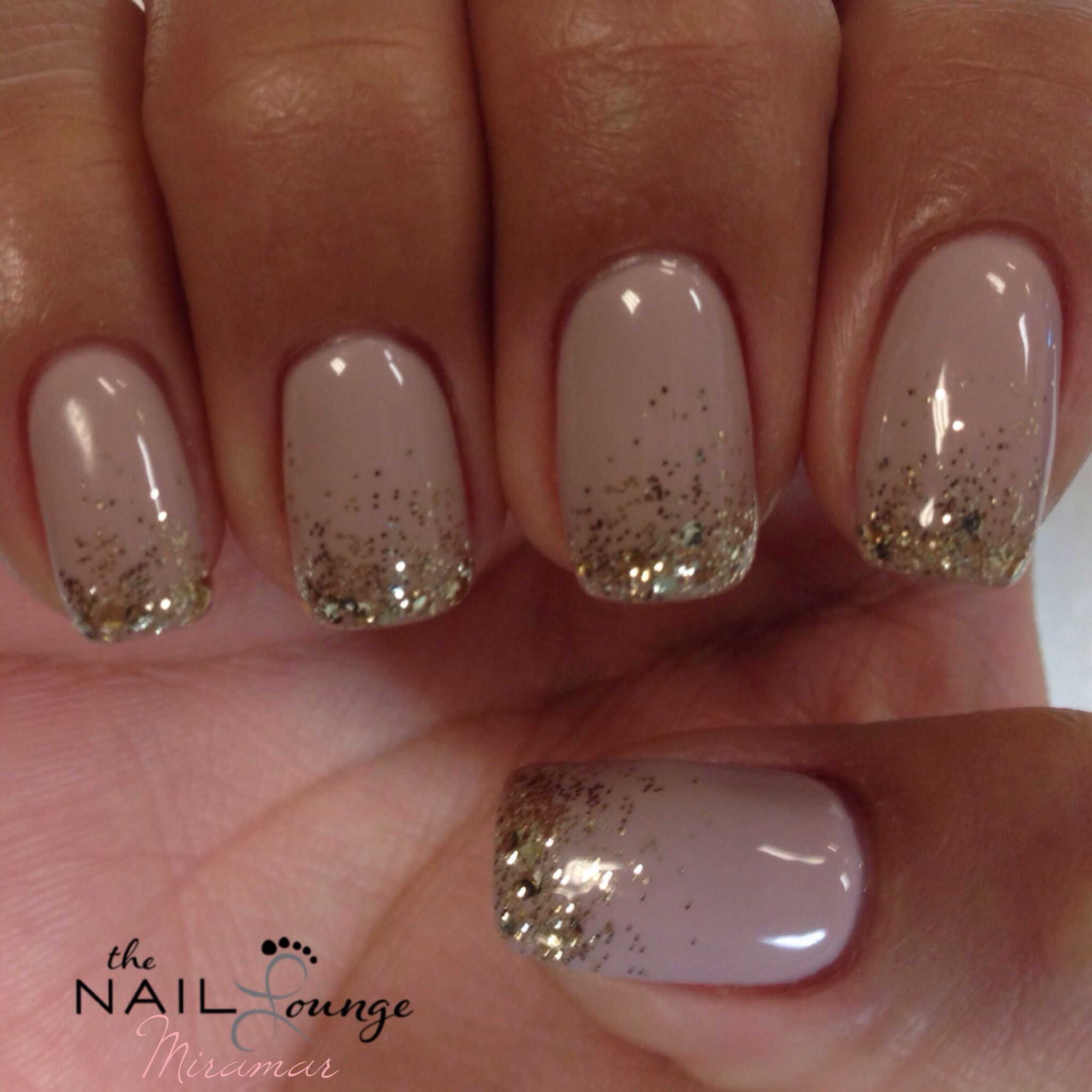 New Year S Eve Sparkle Glitter Gel Nails Design Nehtu Nehty
