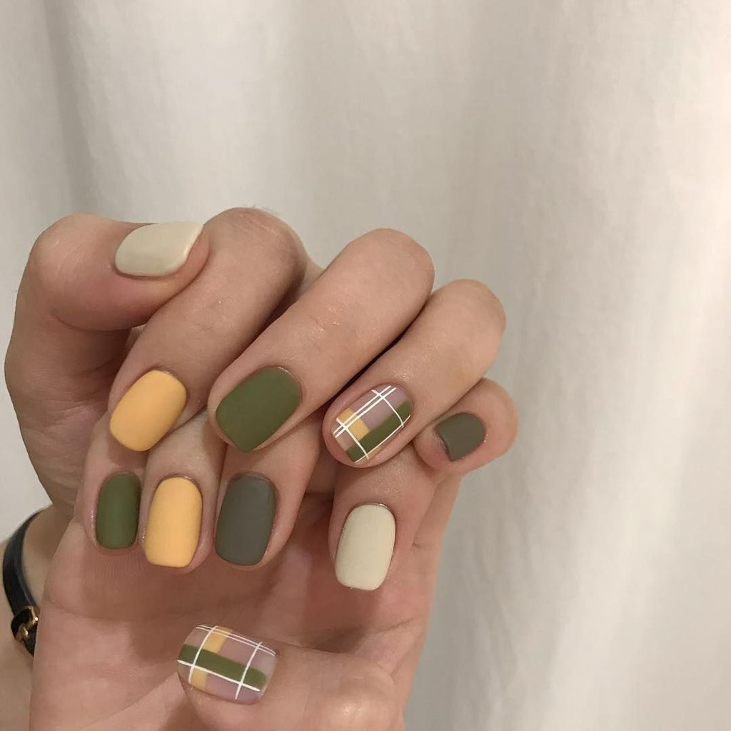 45 Gorgeous Nail Art Designs Ideas For Short Nails Nehty