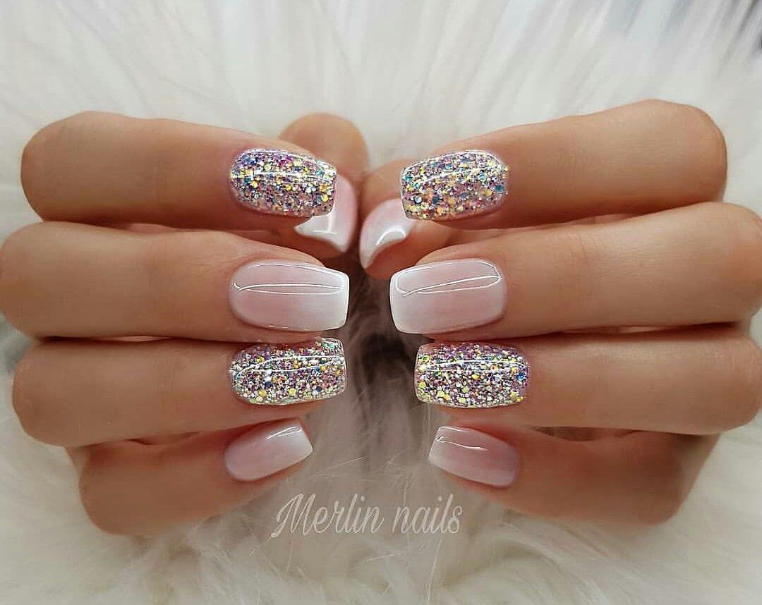 Pin By Sylvie Kiselova On Nails Ombre Nehty Design Nehtu Gelove Nehty
