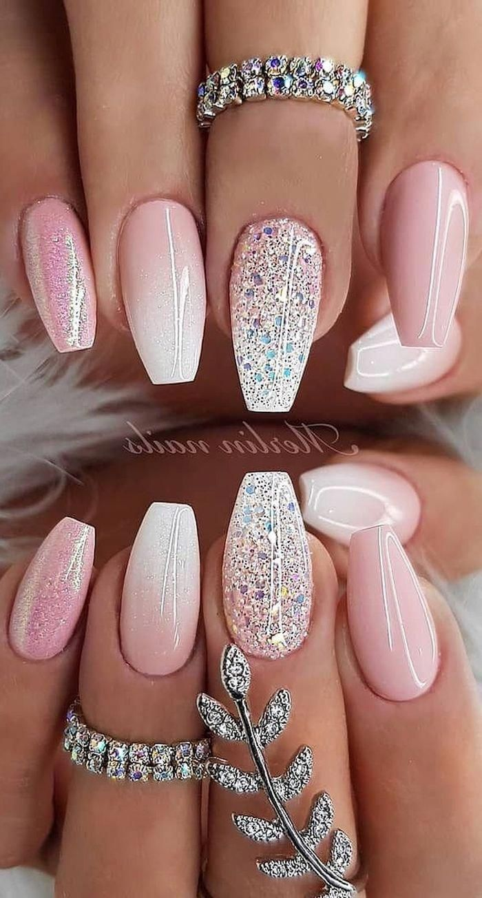 What Manicure For What Kind Of Nails In 2020 Ruzove Nehty Ombre Nehty Bile Nehty