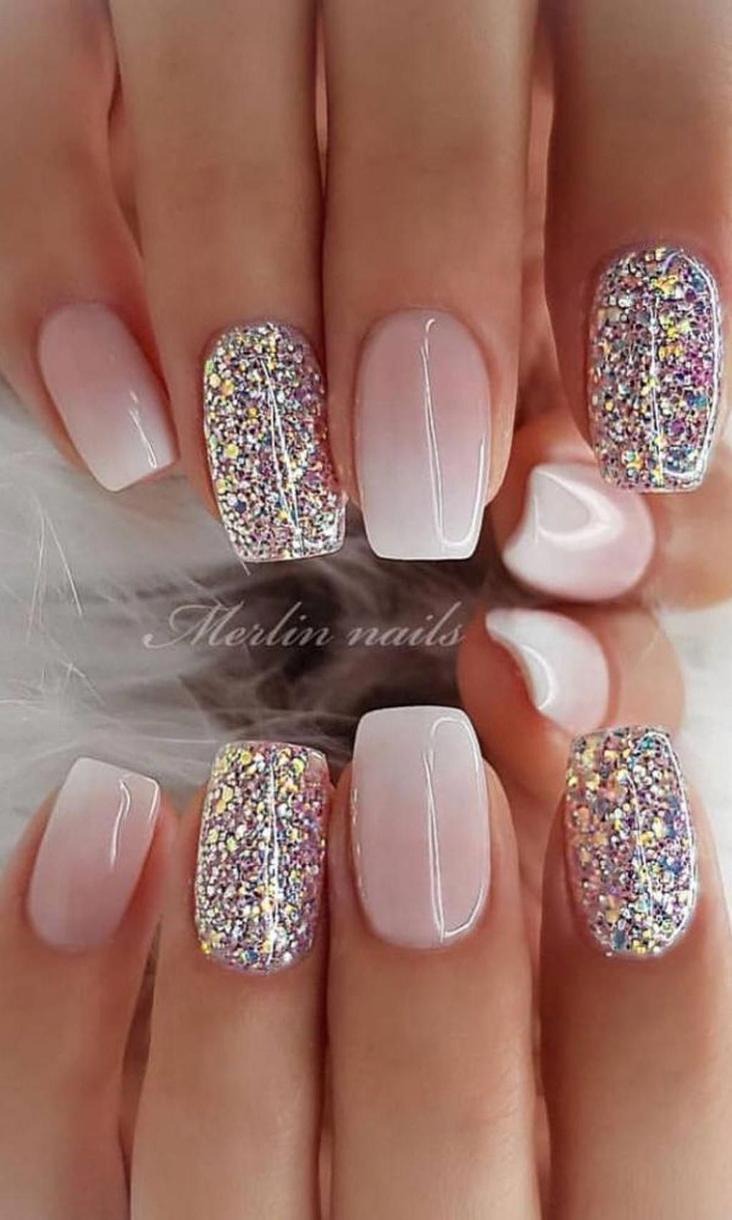 30 Amazing Spring And Summer Nails Art Designs Ideas For 2019 Summernails Chic Nail Designs Chic Nails Nail Designs Glitter