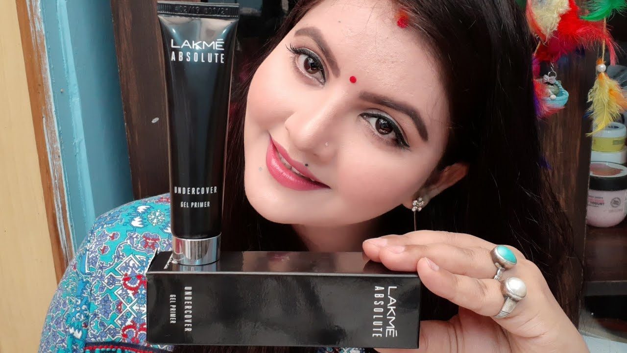 Lakme Absolute Under Cover Gel Face Primer Review And Demo Lakme New Launch Silicone Primer Youtube