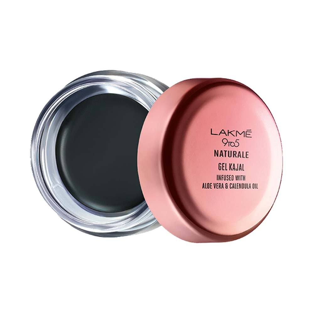 Buy Lakme 9 To 5 Naturale Gel Kajal Black 3 G Online At Low Prices In India Amazon In
