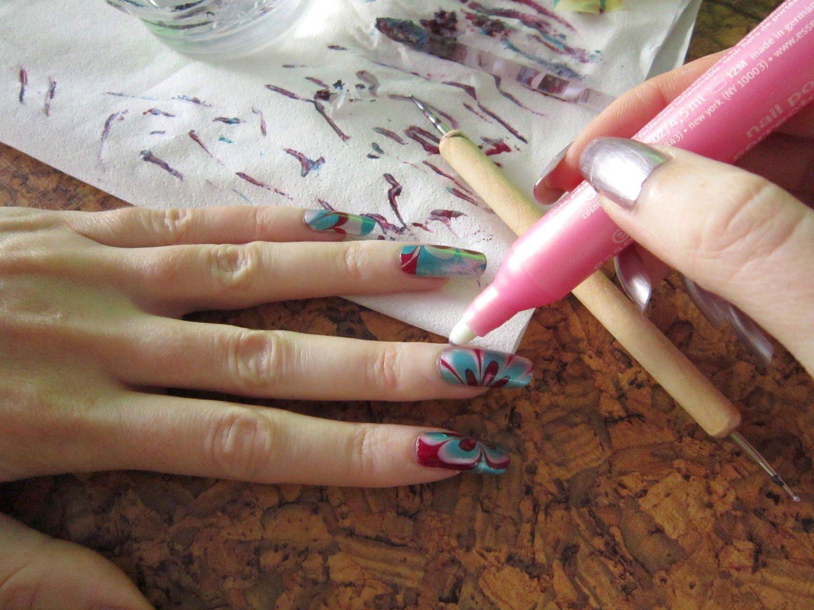 My Pink Spirit Metalicke Hratky Nail Art Tutorial Nail Art Tutorial Art Tutorials Nail Art