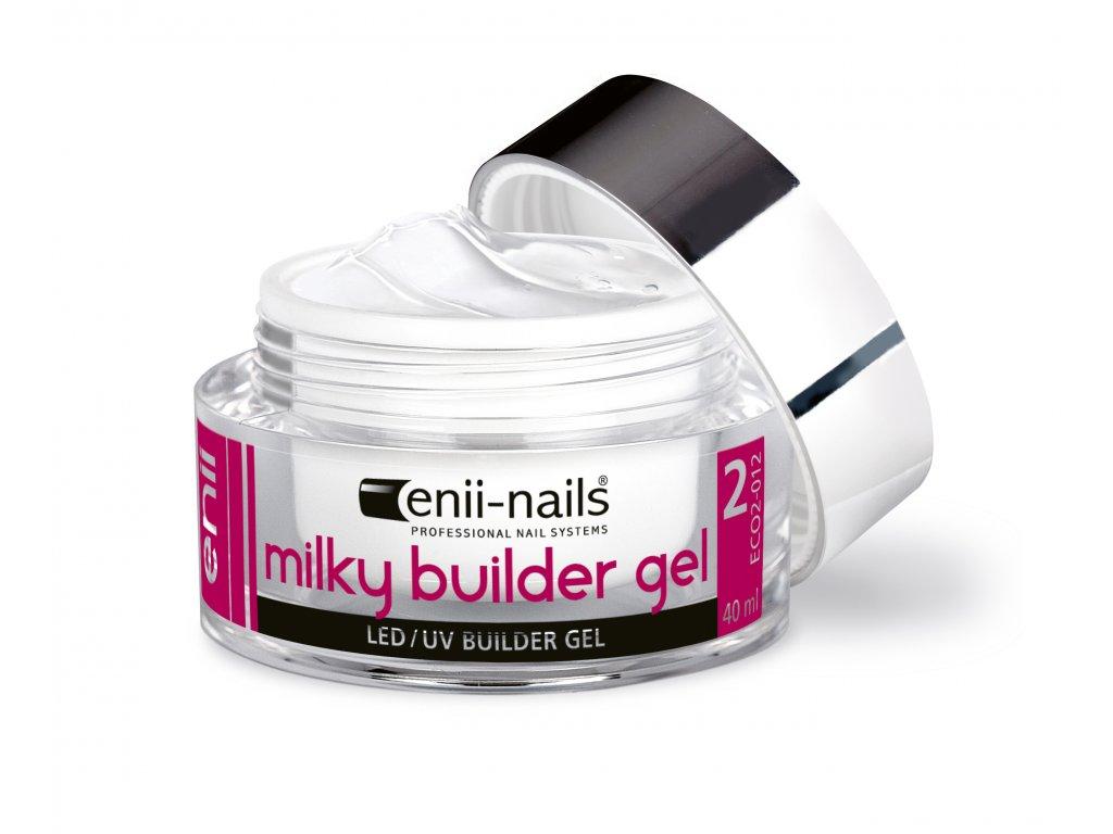 Uv Gel Modelovaci French Mlecne Bily 40 Ml Enii Nails
