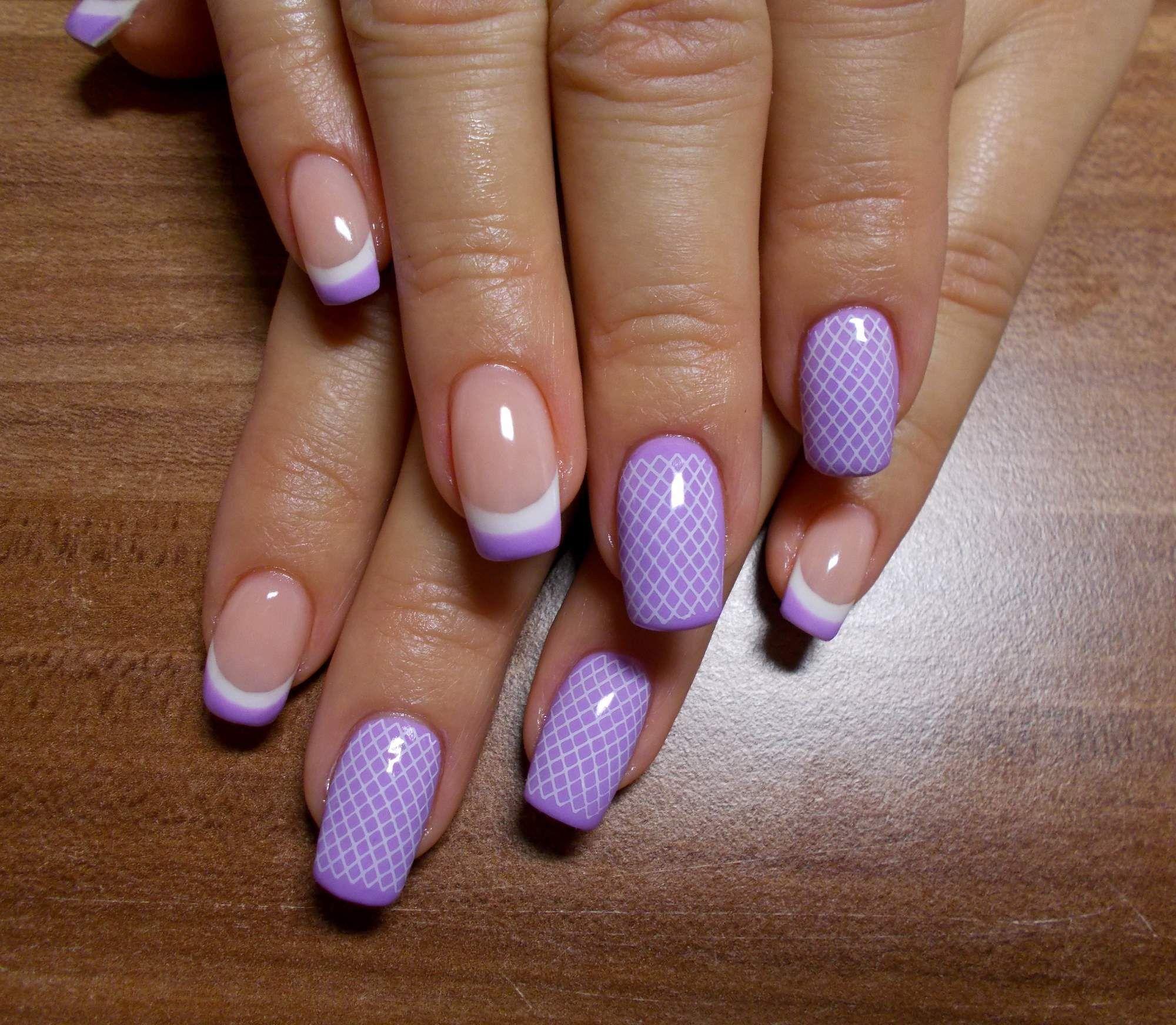 Gelove Nehty Hledat Googlem Purple Nails Nail Art Nails