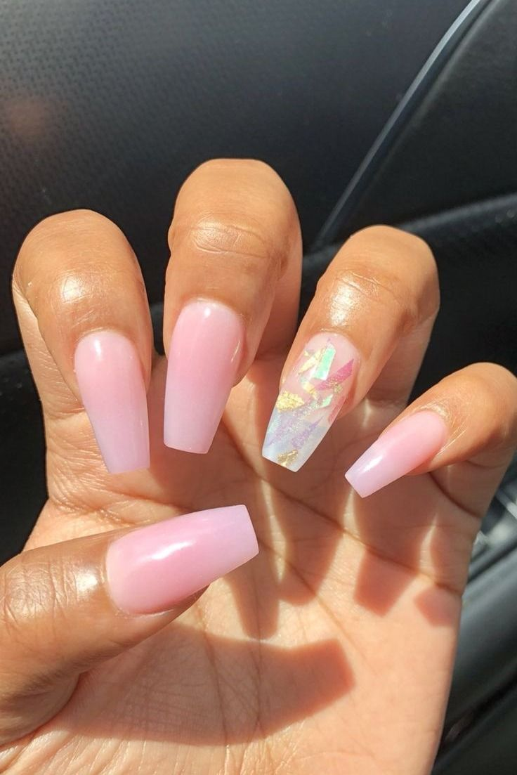 24 Gorgeous Ombre Acrylic Coffin Nails To Wear Vibrant Nail Colors Nehty Styly Ucesu