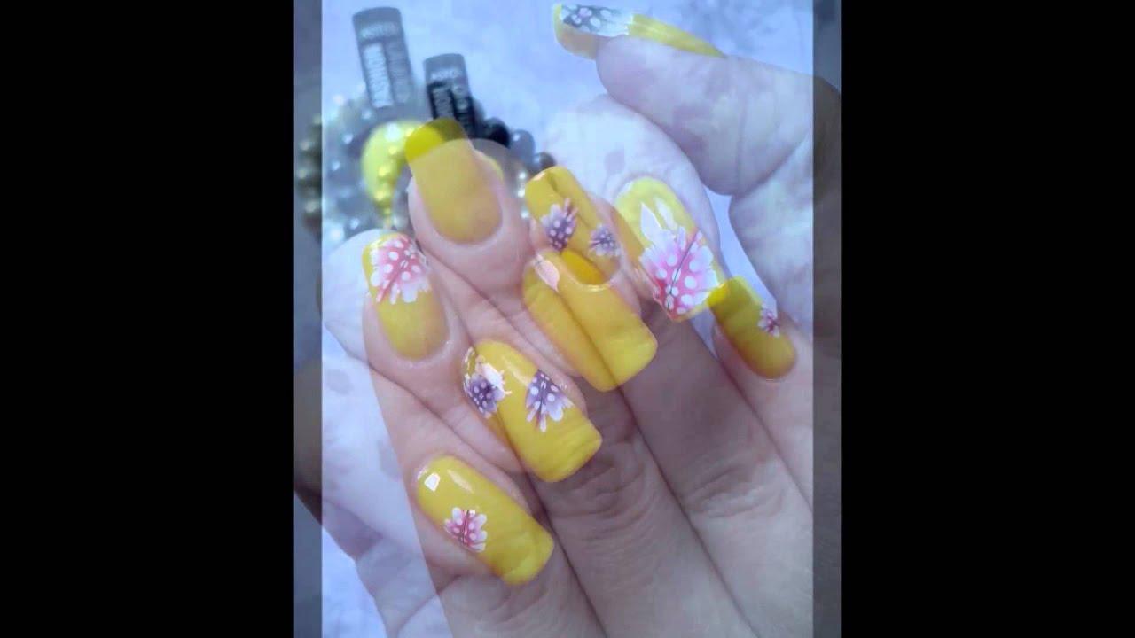 Podzimni Nehty Autumn Nails Youtube