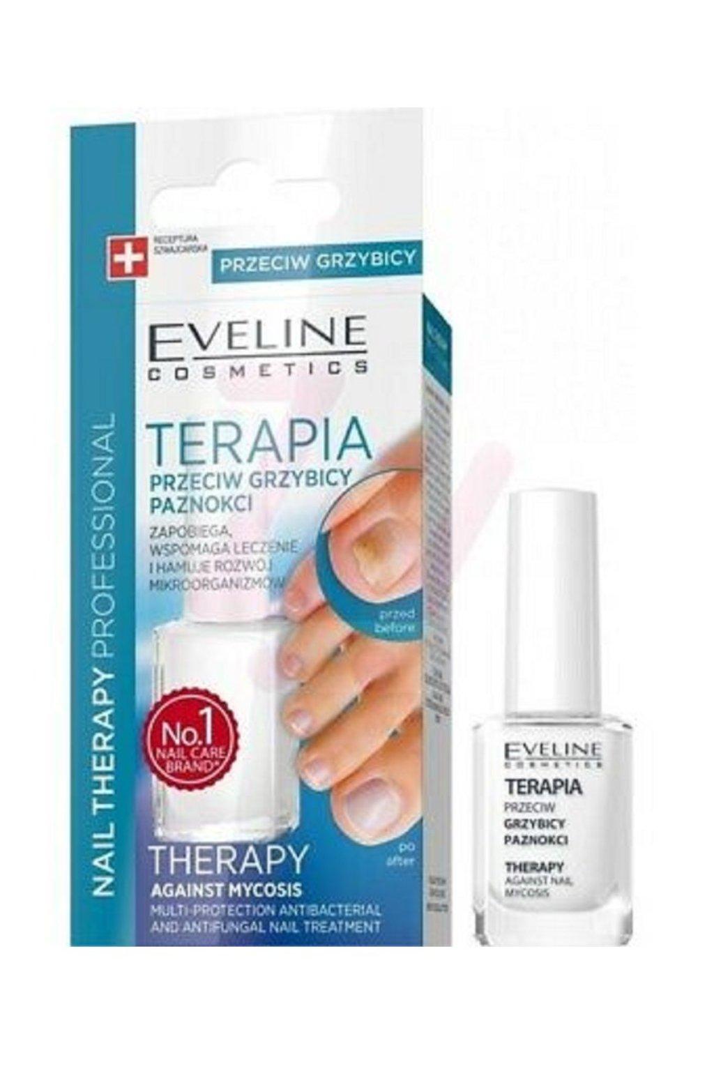 Eveline Cosmetics Nail Polish For Nail Fungus Feet Hands Mykose Lilite