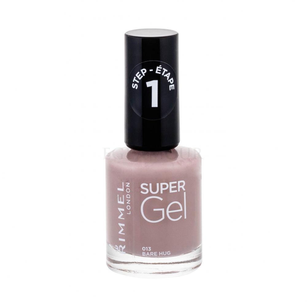 Rimmel London Super Gel Step1 Lakier Do Paznokci Dla Kobiet 12 Ml Odcien 013 Bare Hug Perfumeria Internetowa E Glamour Pl