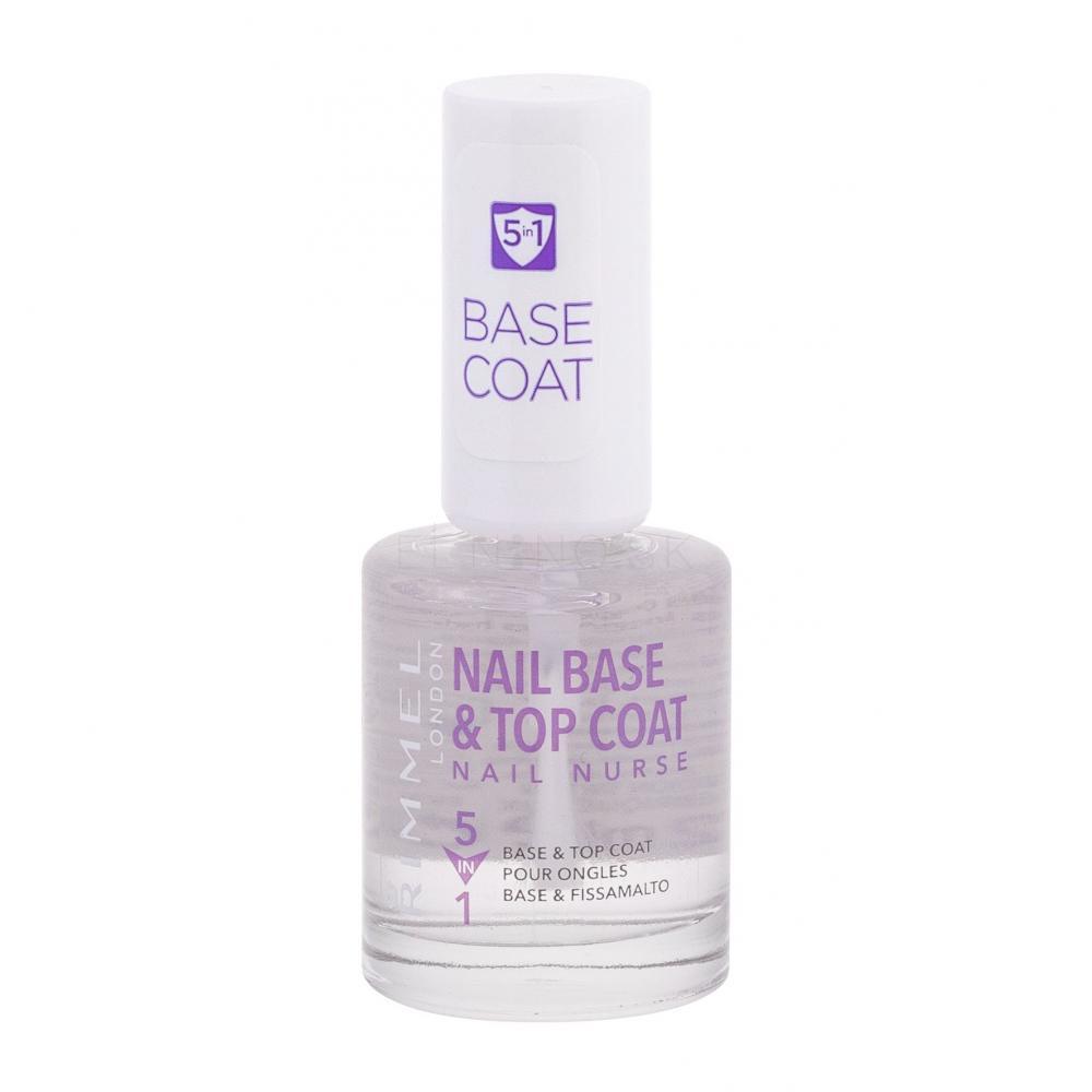 Rimmel London Nail Nurse Base Top Coat Lak Na Nechty Pre Zeny 12 Ml Elnino Sk
