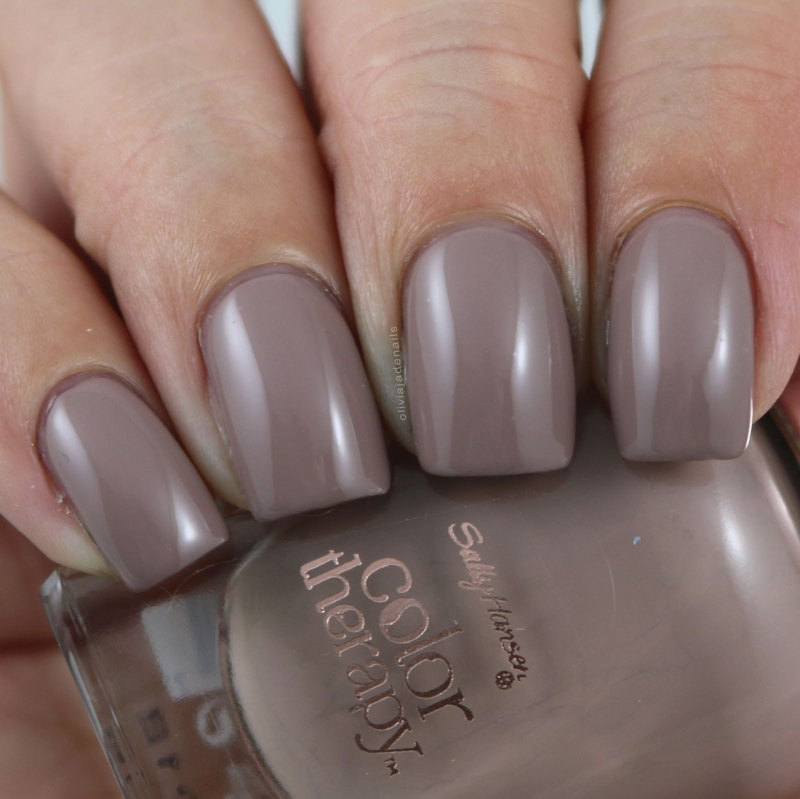 Sally Hansen Steely Serene Swatched By Olivia Jade Nails