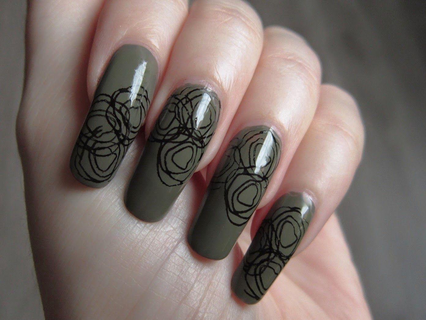 Sephora Game Over Nail Polish Stamping Stamp Plate Qa44 From Ebay Nails Nail Art Nail Polish