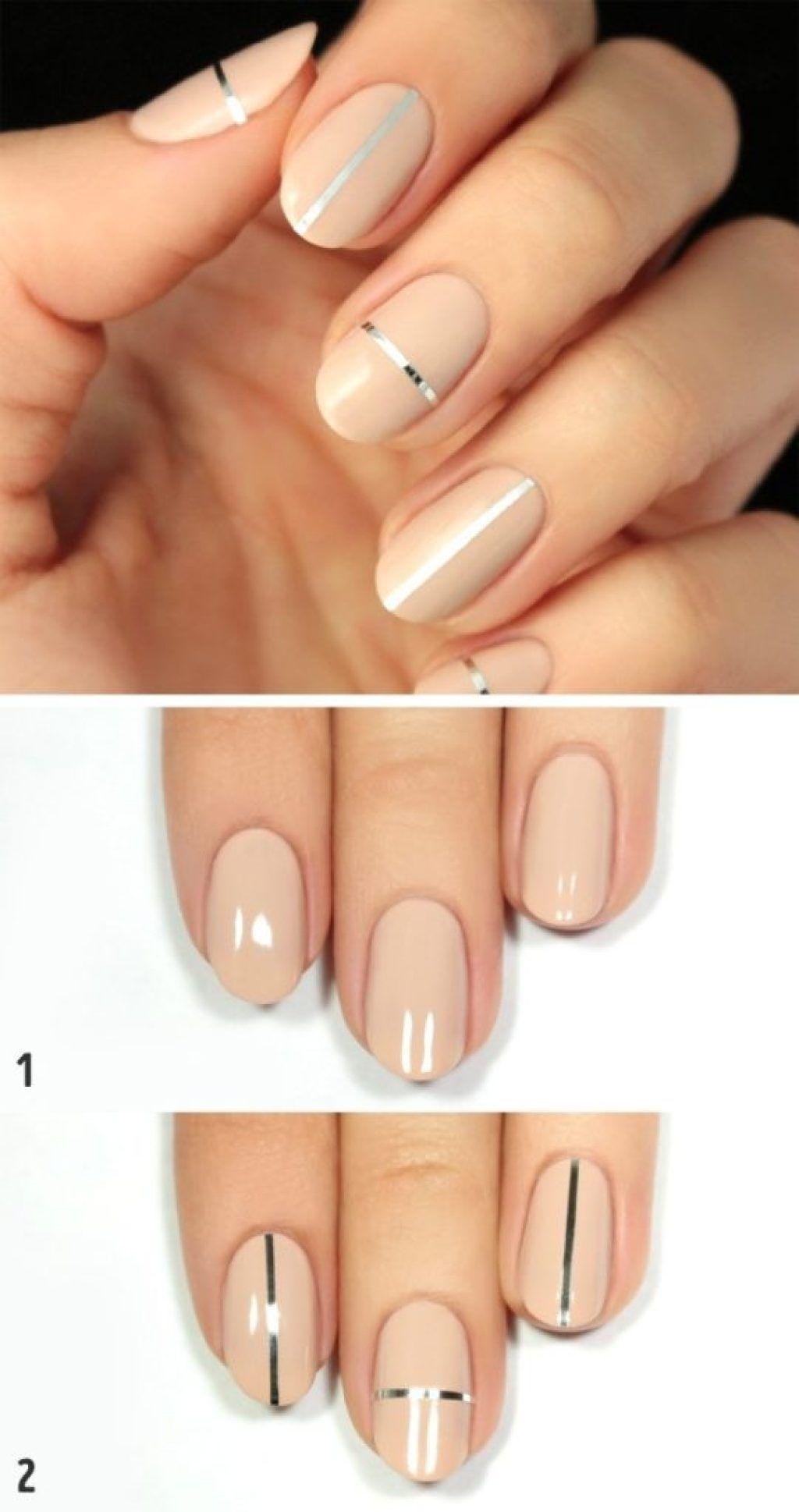 10 Perfektnich Zpusobu Jak Si Ozdobit Kratke I Dlouhe Nehty In 2020 Work Nails Perfect Nails Office Nails