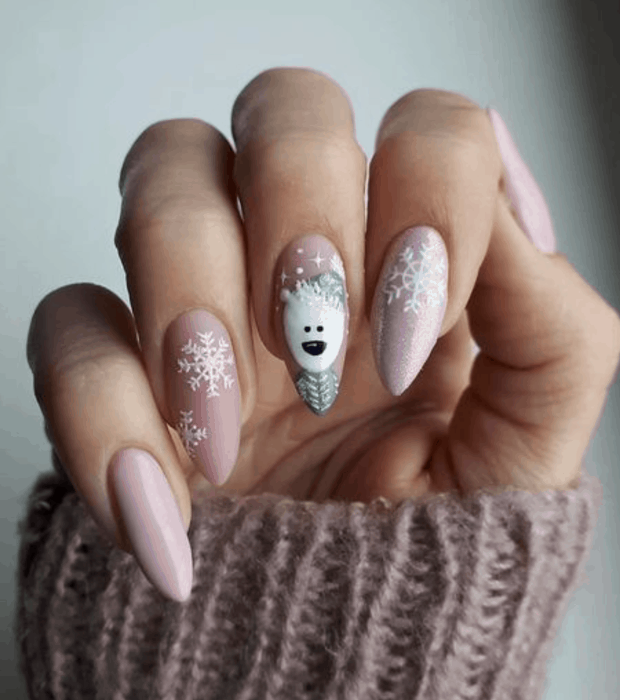 10 Holiday Nail Ideas For 2019 Gelove Nehty Design Nehtu A Nehty