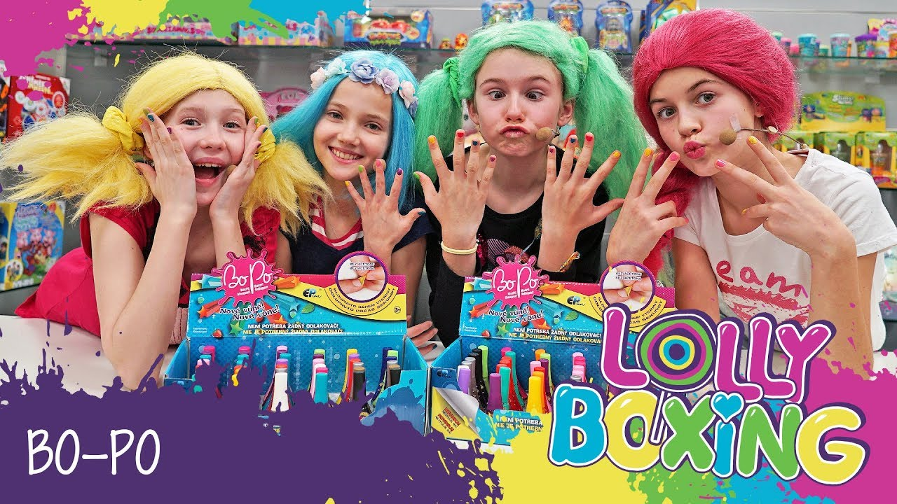 Lollyboxing 11 Bo Po Laky Na Nehty A Balzamy Na Rty Youtube