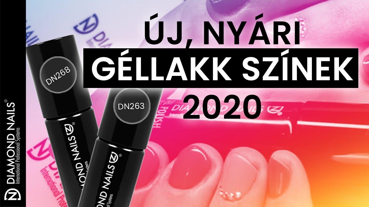 2020 Uj Nyari Gellakk Szinek 1 Dn268 Dn263 Youtube