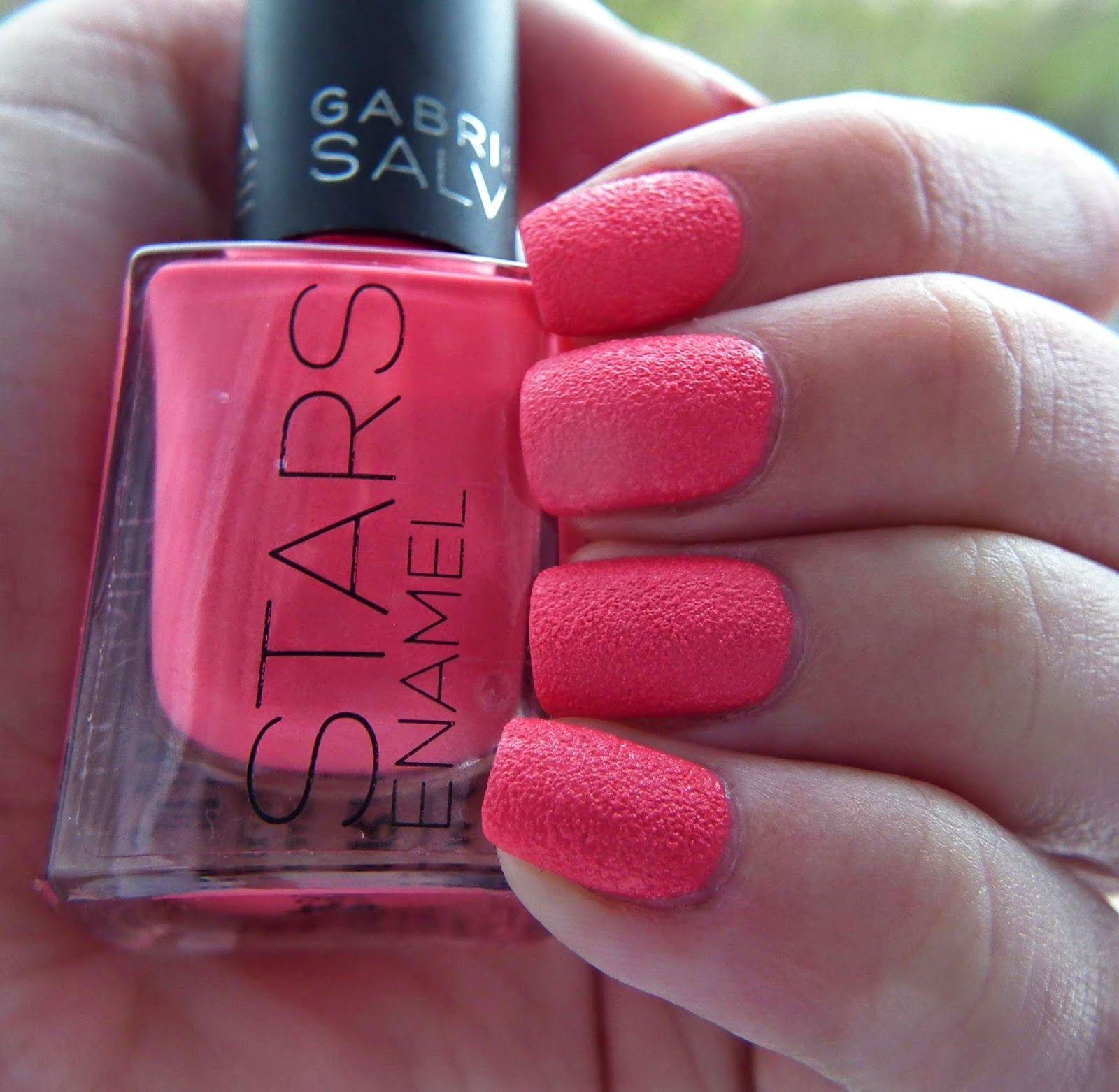 Gabriella Salvete Stars Raspberry 05 Nails Raspberry Stars