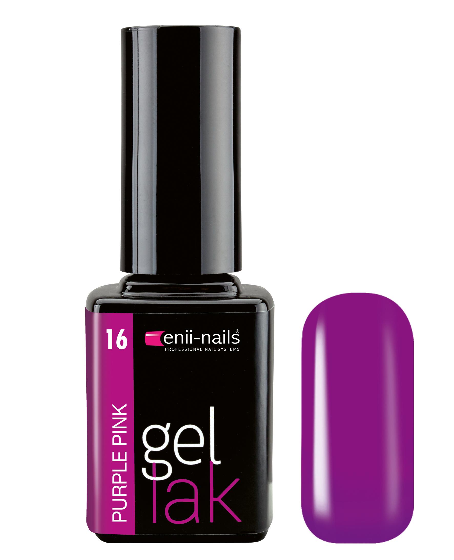 Enii Nails Gel Lak 11 Ml Purple Pink Mkosmetika