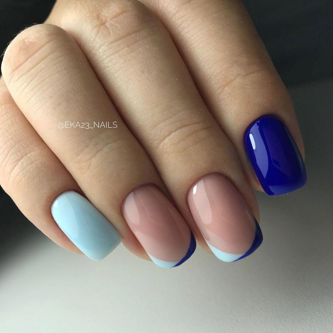 Gellak The Color Gel Par Excellence Shiny Nails Designs Navy Nails Nail Tips