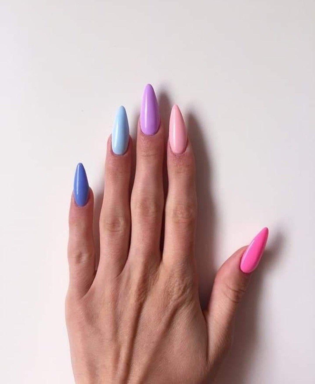 Pin By Naninails On Spring Nail Art Gelove Nehty Umele Nehty Design Nehtu