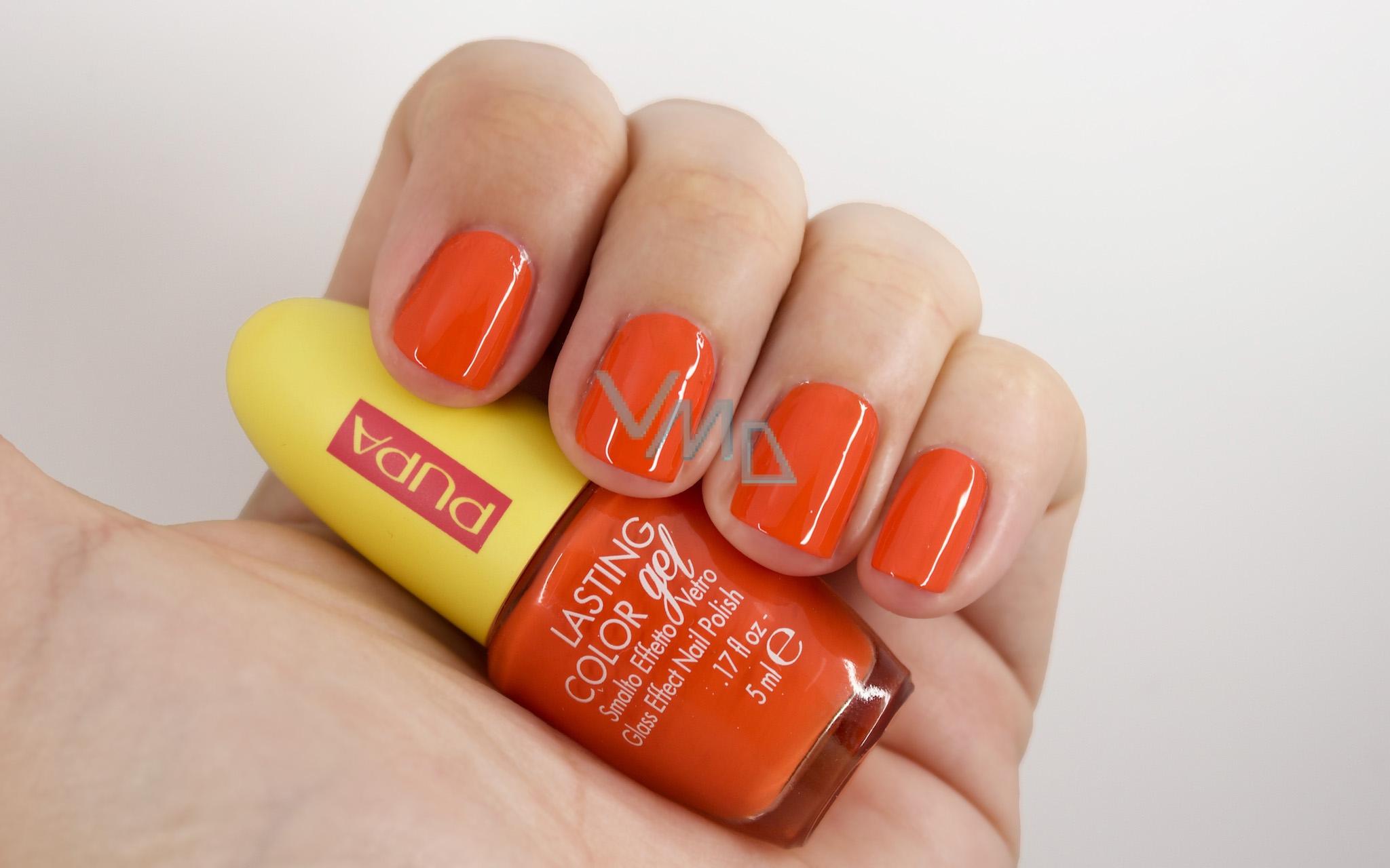 Pupa Summer In La Lasting Color Gel Gel Nail Polish 183 Swett Spritz 5 Ml Vmd Parfumerie Drogerie
