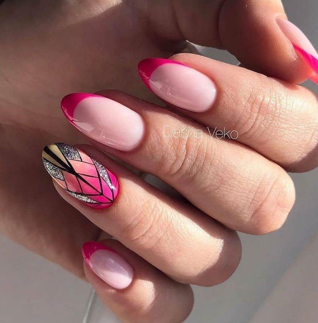 Nail Unas Dkgf In 2020 Nail Designs Spring Nail Designs Spring Nails